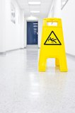 Slip hazard stock images