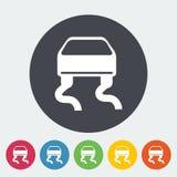 Slip-indicator. Single flat icon. Vector illustration EPS 10 Royalty Free Stock Images