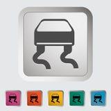 Slip-indicator. Single icon Vector illustration Royalty Free Stock Photo