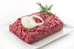 Slipad meat royaltyfri bild