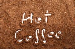 slipat kaffe Royaltyfria Foton