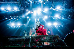 Slipknot koncert obrazy royalty free