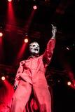 Slipknot koncert obrazy royalty free