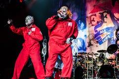 Slipknot koncert zdjęcia royalty free