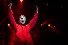Slipknot koncert zdjęcie royalty free