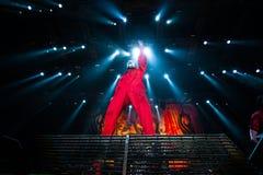 Slipknot koncert fotografia stock