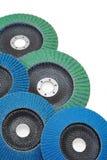 slipmedel isolerad white för disks grinder Arkivfoton