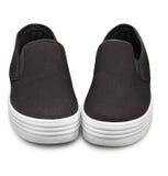 Slipon鞋子 图库摄影