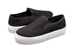 Slipon Shoes Stock Photo