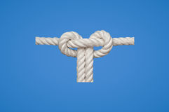 Slipped Square Knot Royalty Free Stock Photo