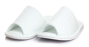 Slipper shoes Royalty Free Stock Photo