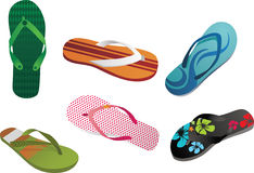 Slippers & Flip Flops Stock Photos