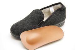 Slippers with insole Royalty Free Stock Image