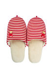 Slippers isolated Royalty Free Stock Images