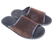 Slippers mans Royalty Free Stock Photo