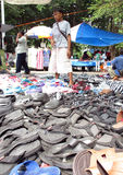 Slippers and shoes Stock Image