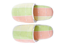 Slippers for use in the home. Stock Image