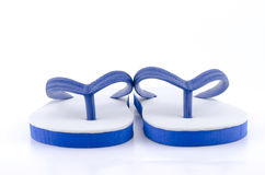 Slippers  on white Royalty Free Stock Image