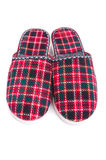 Slippers on white background Royalty Free Stock Images