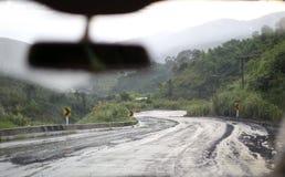 Slippery road stock photos