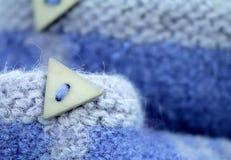 Slippper de laine Photo libre de droits