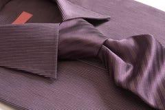 slipsskjorta Fotografering för Bildbyråer