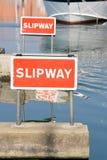slipway знака Стоковые Изображения