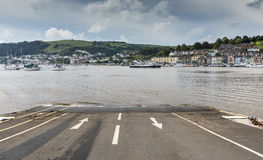 Slipway at Kingswear Stock Images