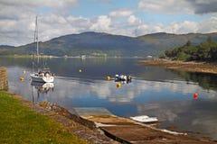 A Slipway on Loch Linnhe Stock Photos