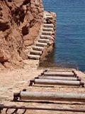 slipway łodzi Obrazy Royalty Free