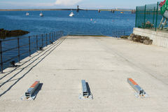 Slipway open. Royalty Free Stock Photography