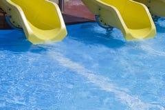 Slipway in pool Stock Image