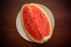 Slised vattenmelon Royaltyfria Foton