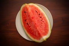 Slised-Wassermelone Lizenzfreie Stockfotos