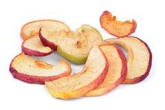 Slises высушенных яблок Стоковое фото RF