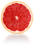 Slit juicy grapefruit Royalty Free Stock Photos