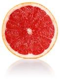 Slit juicy grapefruit royalty free stock photos