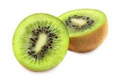 Slit Kiwi (isolated on white) stock image