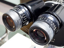 Slit lamp biomicroscope for ophthalmologist Stock Image