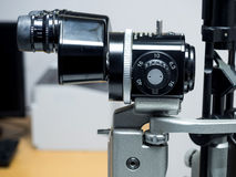 Slit lamp biomicroscope for ophthalmologist Stock Photo