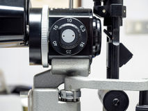 Slit lamp biomicroscope for ophthalmologist Stock Photography