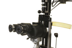 Slit lamp Royalty Free Stock Images