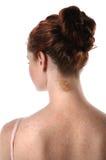 slitage för ballerinabullehår arkivfoto