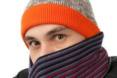 slitage för hattmanscarf royaltyfria foton