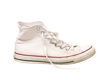 slitage skosport Royaltyfri Fotografi