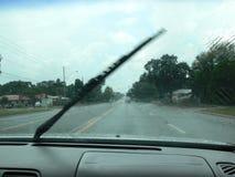 slitage windshieldtorkare Arkivbilder