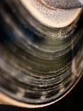 Sliten ut bilavbrottsskiva arkivfoton