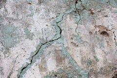 Sliten vägg för väder Arkivfoton