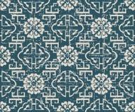Slitet ut antikt sömlöst flöde för stege för bakgrundsgeometrispiral royaltyfri illustrationer