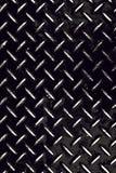 Slitna Diamond Plate Grunge Royaltyfri Bild